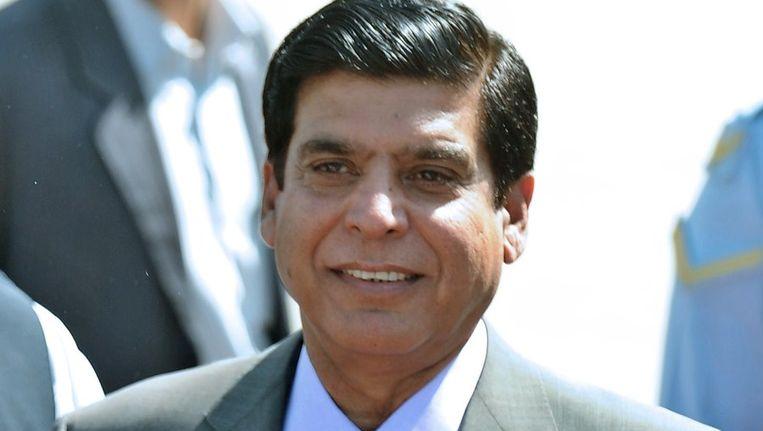 Raja Pervez Ashra kan de nieuwe premier van Pakistan worden. Beeld afp