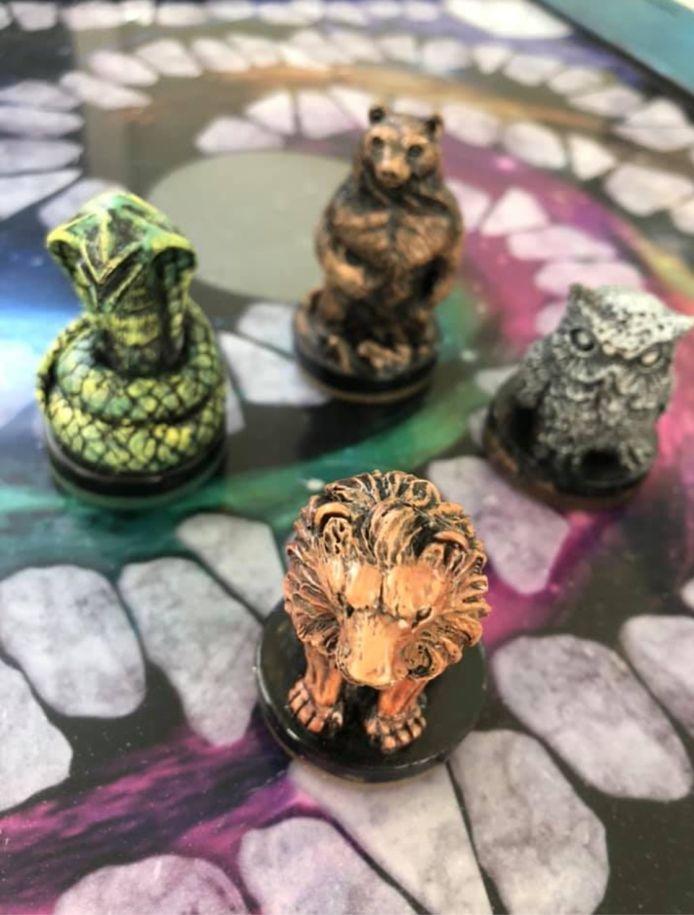 In de 'Magic School' gaan deelnemers op weg met vier magische dieren.