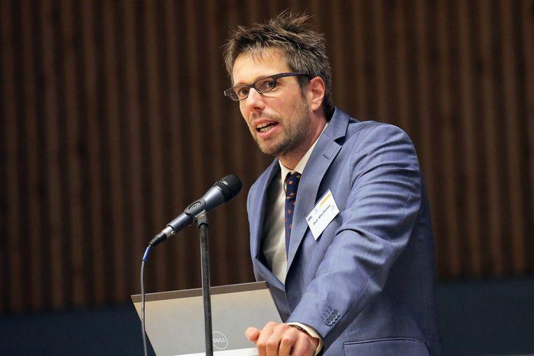 UGent-professor Wim Derave. Beeld UGent