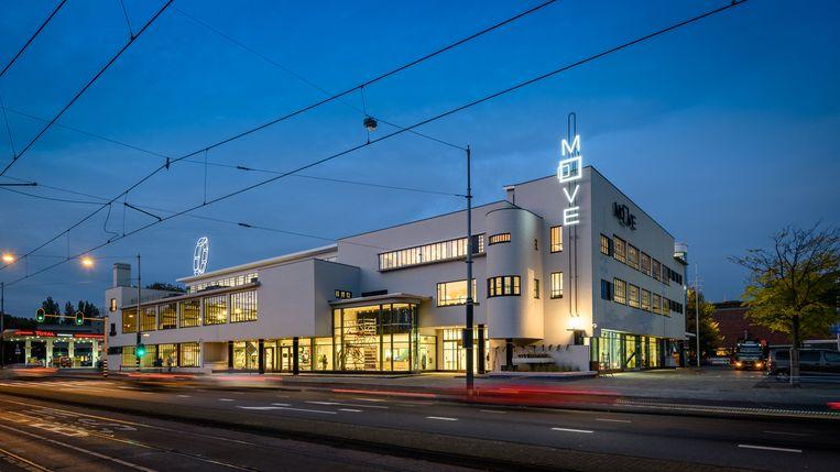 Het gebouw van Move Mobility Experience in Amsterdam Beeld Pon
