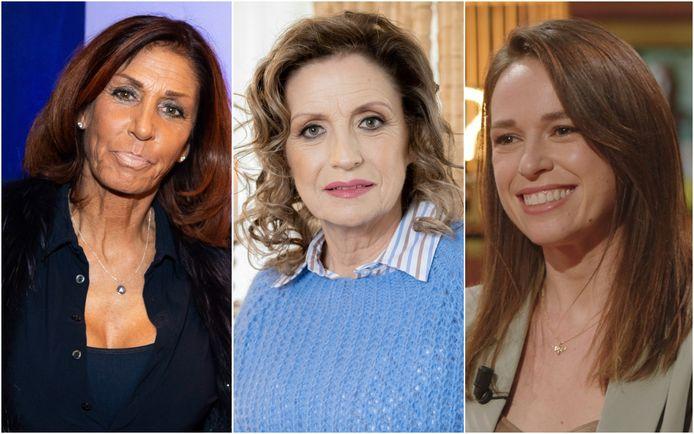 Rachel Hazes, Carmen Pfaff en Stephanie Planckaert