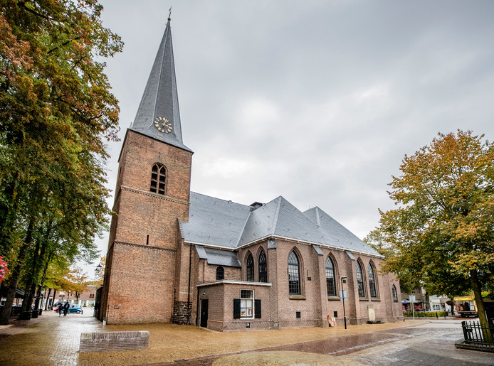 De Oude Kerk in Putten.