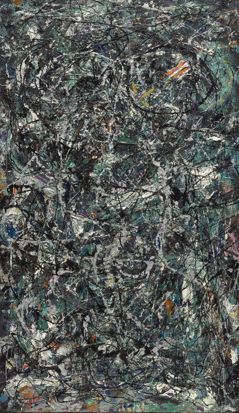 Full Fathom Five van Jackson Pollock Beeld The Museum of Modern Art, New York/Scala, Florence