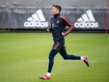 Lewandowski a repris l'entraînement avec le Bayern ce lundi