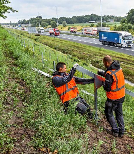 Hier aan de A58 komt het langste zonnepark van Nederland