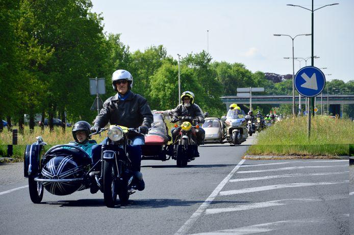 De 34ste Nieuwenoord Motorrun in Baarn