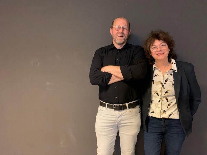 Lucas en Jolanda Vermeulen.