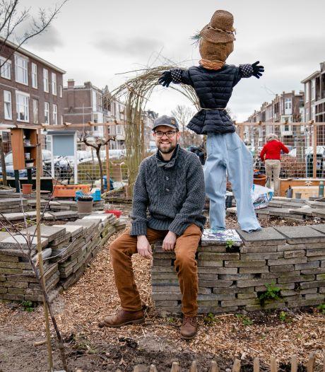 Wat lange tijd een onbenut stukje stad was, is omgetoverd tot een groene buurttuin in spe