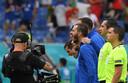 Passie bij de Italianen tijdens het volkslied.