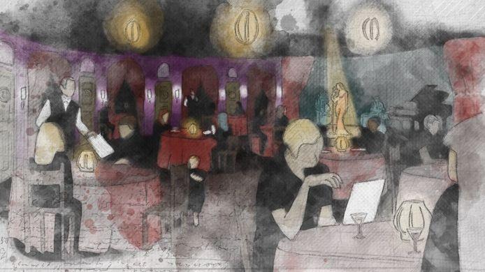 Artist impression van Hotel Wonderland