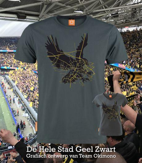 Okimono lanceert speciaal bekerfinaleshirt met daarop adelaar en stadsplattegrond van Arnhem