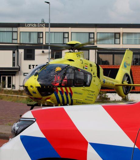 Ernstig ongeval bij opnames Het Jachtseizoen: traumahelikoper ter plaatse