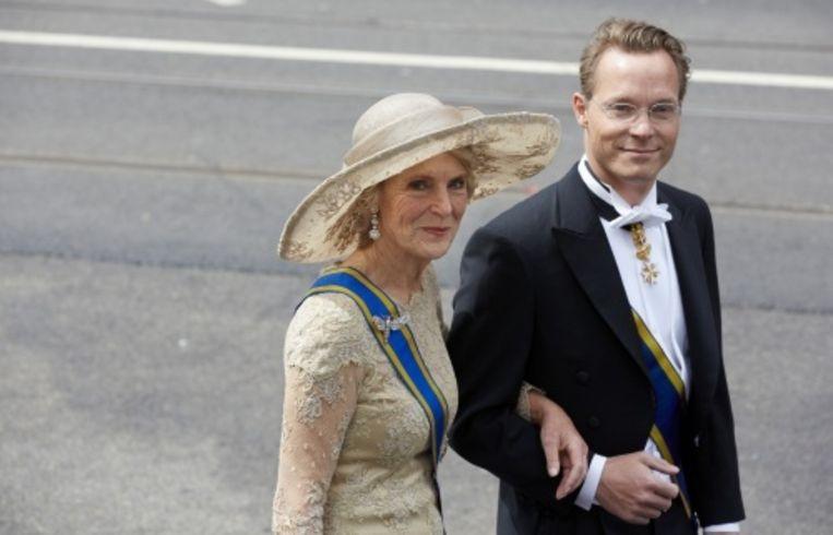 null Beeld Prins Jaime en zijn moeder, prinses Irene. ANP