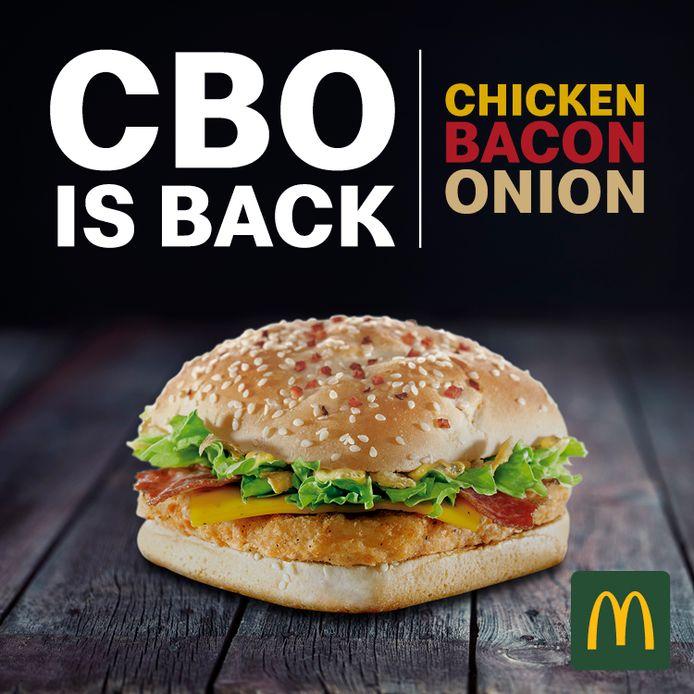 McDonald's a entendu les prières des fans du CBO.