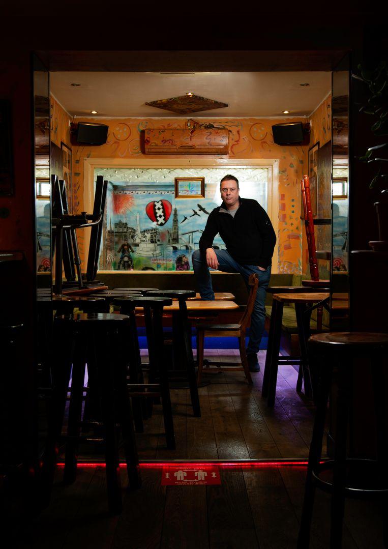 Arnoud Veltkamp (46) van Coffeeshop Katsu. Beeld Susanne Stange