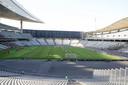 Het imposante Atatürk Olympisch Stadion van Istanbul. Nederland verloor er in het voorjaar even kansloos als pijnlijk van Turkije (4-2), PEC Zwolle deed het in de oefenwedstrijd tegen Fenerbahçe beter.