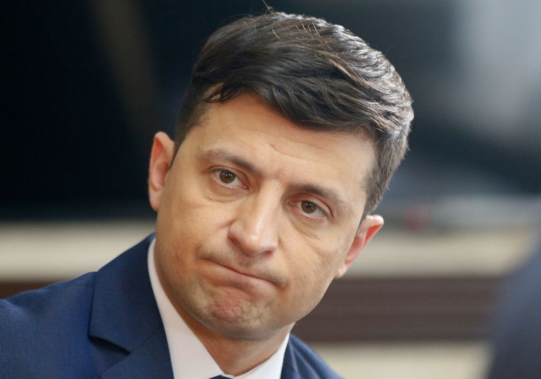 Volodymyr Zelenskiy Beeld AP