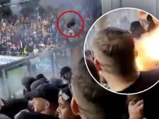 Deze vuurwerkbom liet IJsselderby exploderen: bekijk de beelden