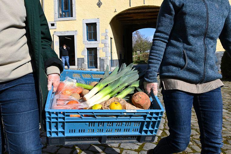 Landbouwcoöperatieve Hesbicoop uit het Luikse Geer. Beeld Photo News