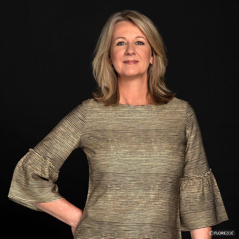 Eline van den Berg, specialist productieketens van Royal FloraHolland, de bloemenveiling. Beeld florezoé