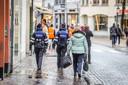 De winkels te Brugge zijn heropend: de politie controleert