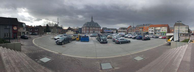 Het plein wordt zaterdag officieel geopend.