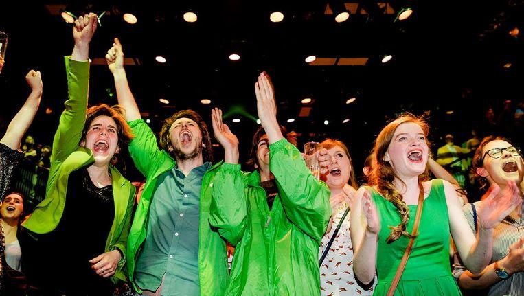 Vooral kiezers van GroenLinks kozen beduidend meer voor vrouwelijke kandidaten. Beeld anp
