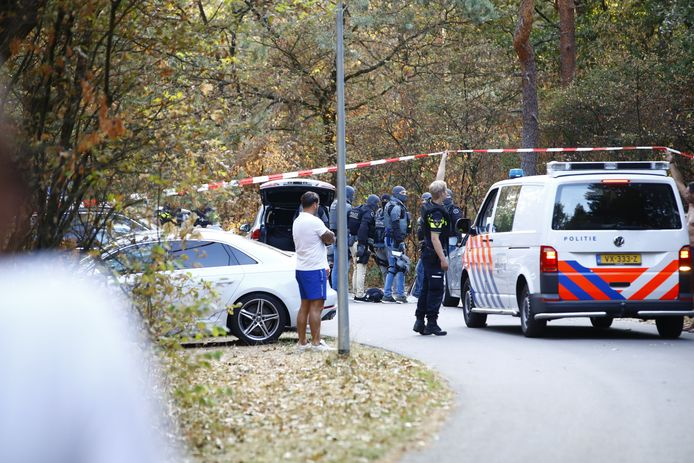 Politieactie bij Witte Wieven Nunspeet