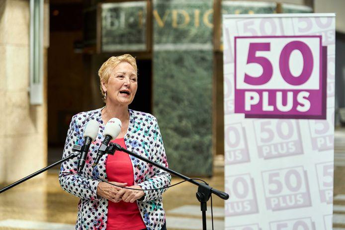 Corrie van Brenk is de kersverse fractievoorzitter van 50Plus in de Tweede Kamer