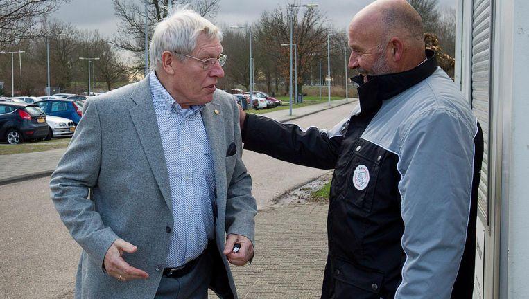 Ton Pronk (links) overleed aan de gevolgen van de spierziekte ALS Beeld anp