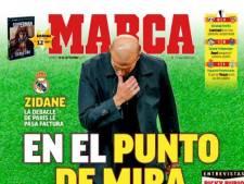 """Zidane dans le viseur des médias espagnols... et déjà menacé? """"Il perd du crédit"""""""