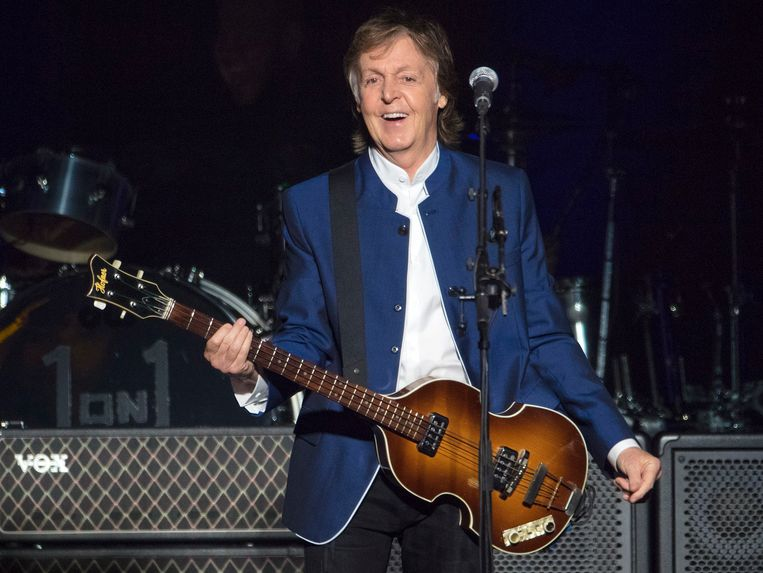Voormalig The Beatles-lid Paul McCartney. Beeld AP