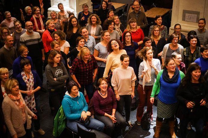 Allez, Chantez! brengt al vijf jaar mensen samen om te zingen.