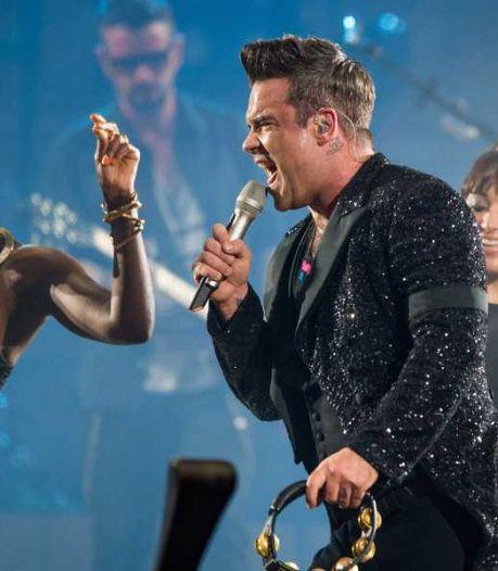 'Vrouw Robbie Williams strikt meisje'
