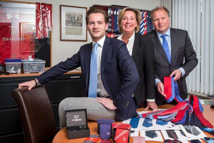 Wieger Thuys werkt bij zijn ouders in hun stropdassenbedrijf Ties International.