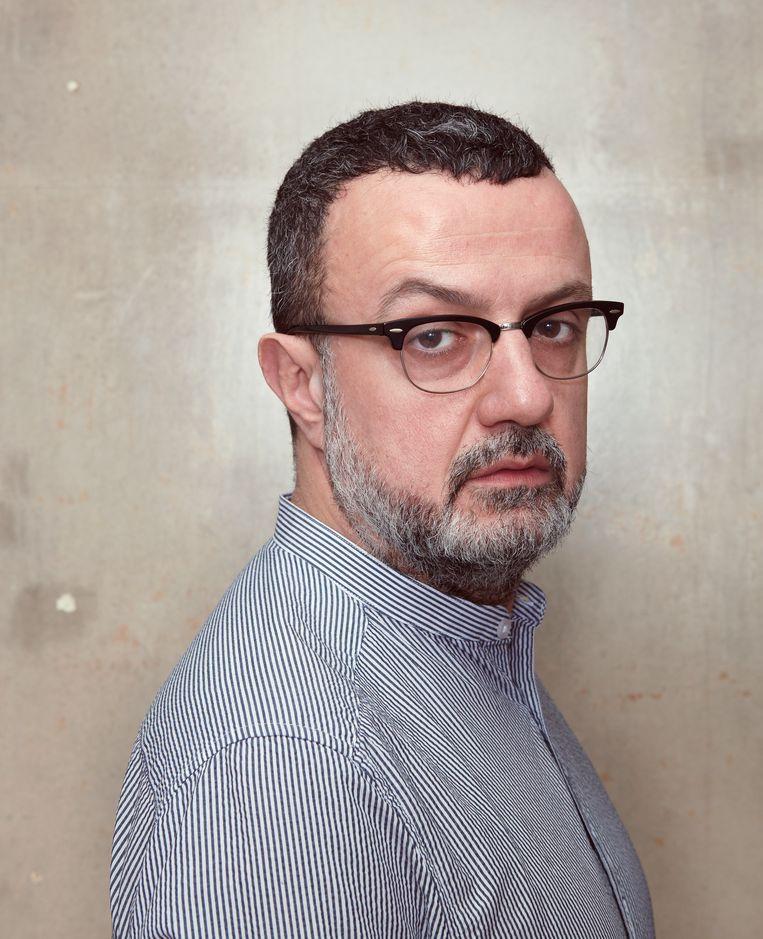 Artistiek directeur van Toneelgroep Oostpool Marcus Azzini. Beeld Daniel Cohen