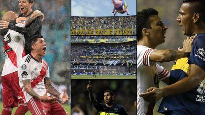 Zuid-Amerika maakt zich op voor clash van de eeuw: aartsrivalen Boca Juniors en River Plate staan voor 'moeder aller gevechten' in finale Copa Libertadores