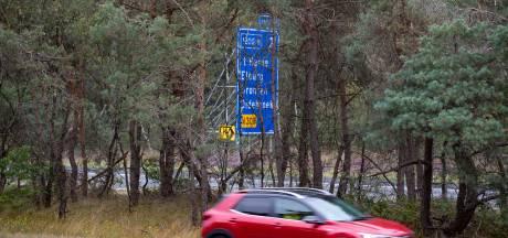 Plaatsen vangrails langs A28 tussen Wezep en Nunspeet duurt langer dan verwacht