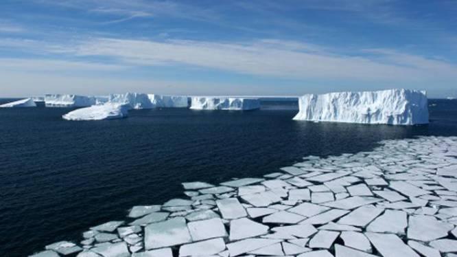 Belgische wetenschappers onderzoeken klimaatverandering voor kust van Antarctica