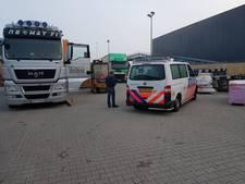 Drie verstekelingen in vrachtwagen Alblasserdam