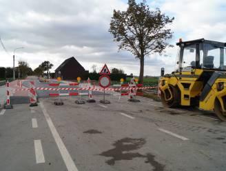 Werken in Bruggestraat vroeger klaar dan gepland
