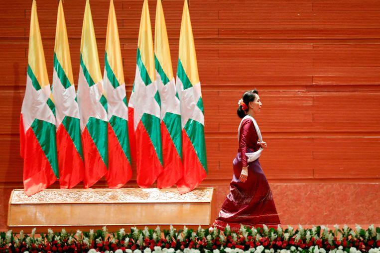 Aung San Suu Kyi. Beeld REUTERS