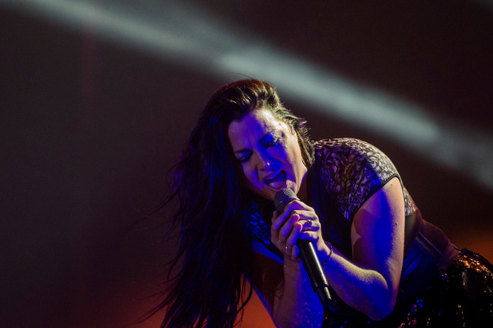 Amy Lee van Evanescence.