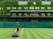 En het bleef akelig stil op Wimbledon..