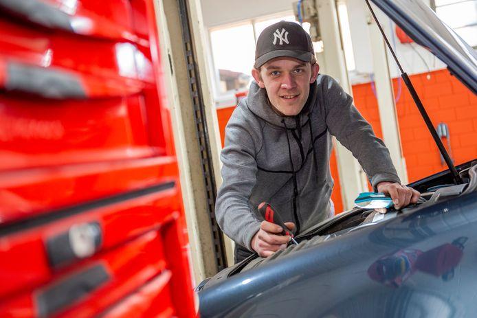 Andreas Klaassen van Garagebedrijf Rhenen.