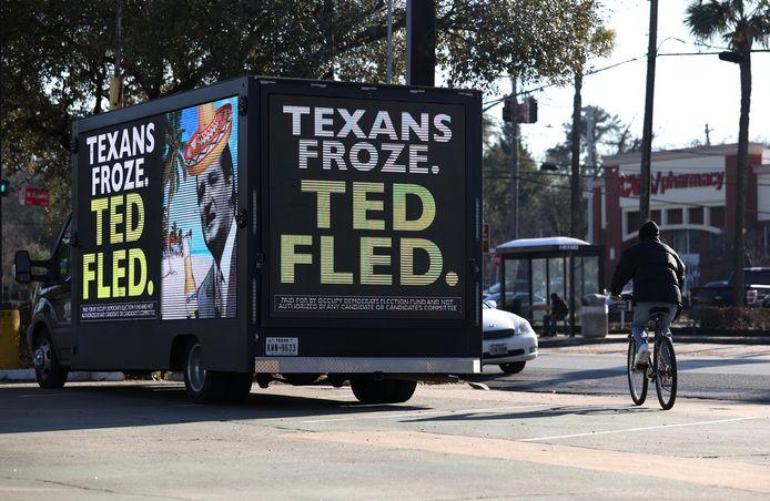 Senator Ted Cruz wekte afgelopen week de woede van veel Texanen op toen hij met zijn gezin, tijdens de barre kou, voor een korte vakantie naar het warme Mexico vertrok.