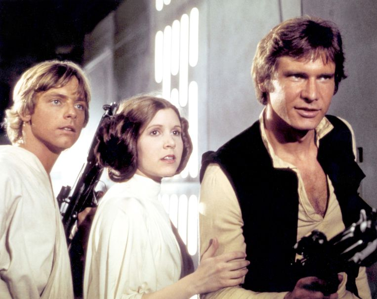 'Sommige muziek is onlosmakelijk verbonden met een film', zegt filmjournalist Robin Broos. 'Denk maar aan de motieven uit 'Star Wars''.  Beeld Getty Images