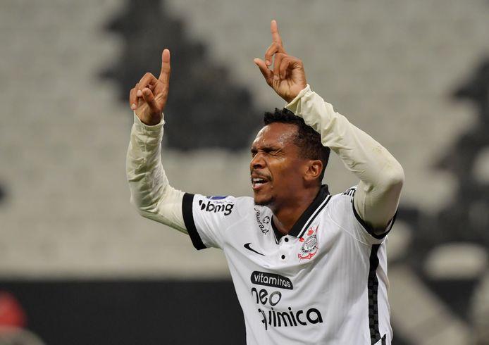 Jô, aanvaller van Corinthians.