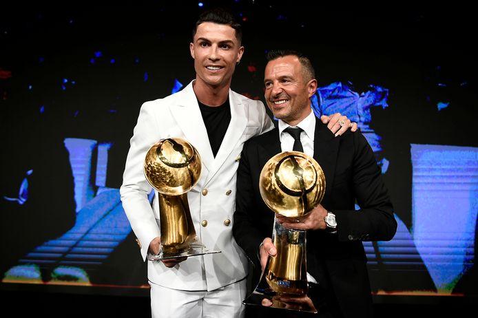 Cristiano Ronaldo en Jorge Mendes.