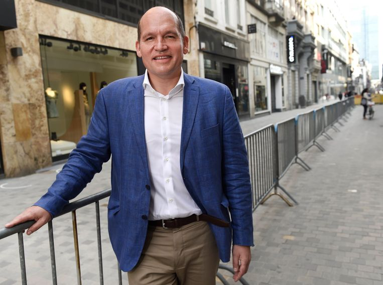 Brussels burgemeester Philippe Close. Beeld Photo News